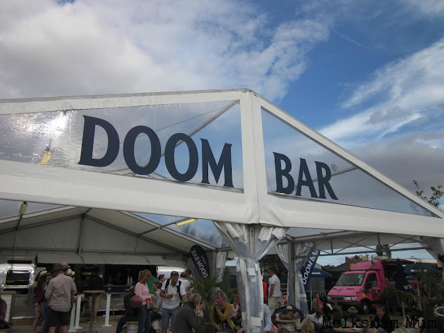 Doombar tent The Big Feastival 2013