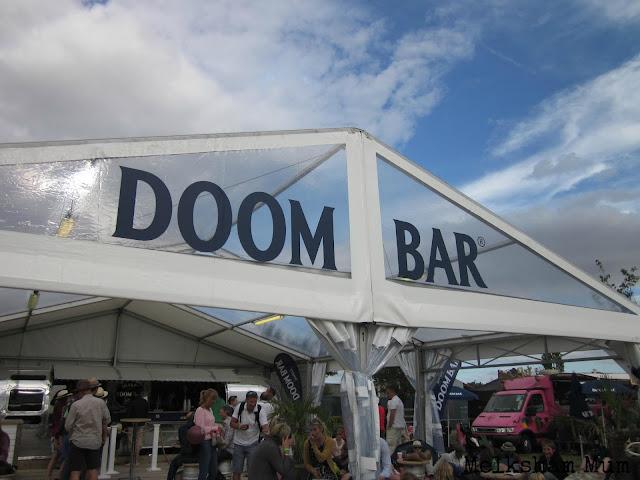 Doombar tent The Big Feastival 2013