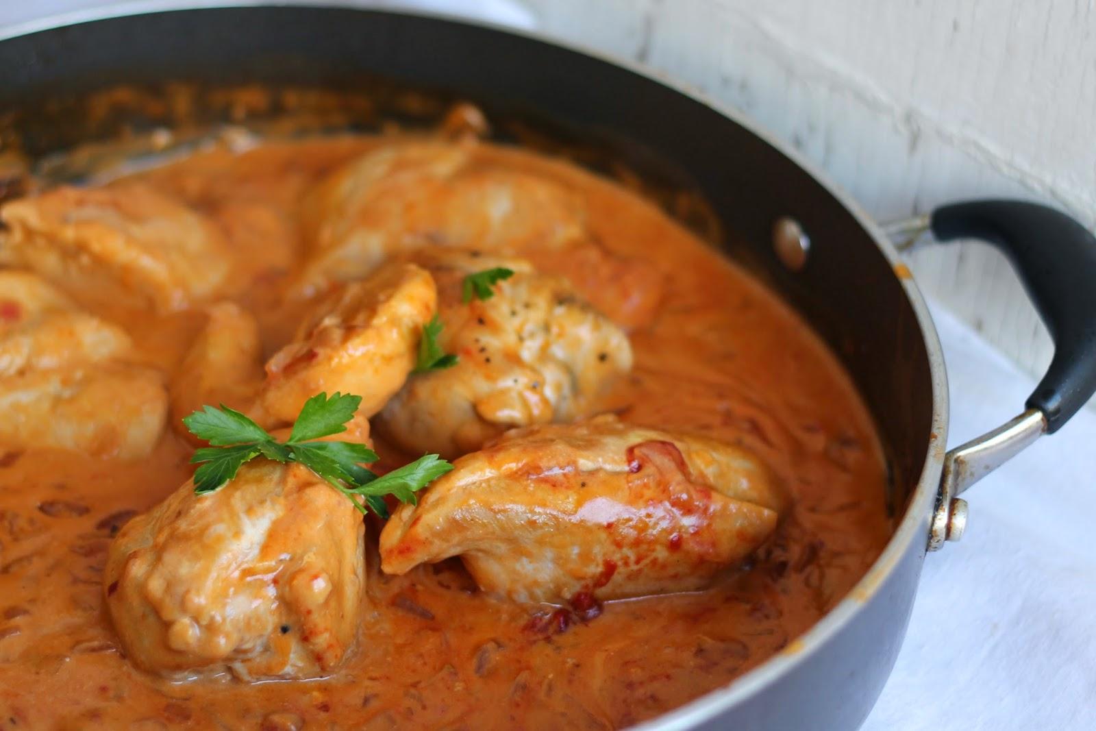 Lick The Spoon: French Vinegar Chicken-Poulet saute au Vinaigre