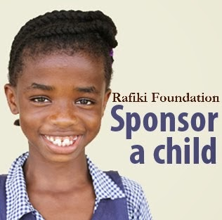 WE LOVE THE RAFIKI FOUNDATION!