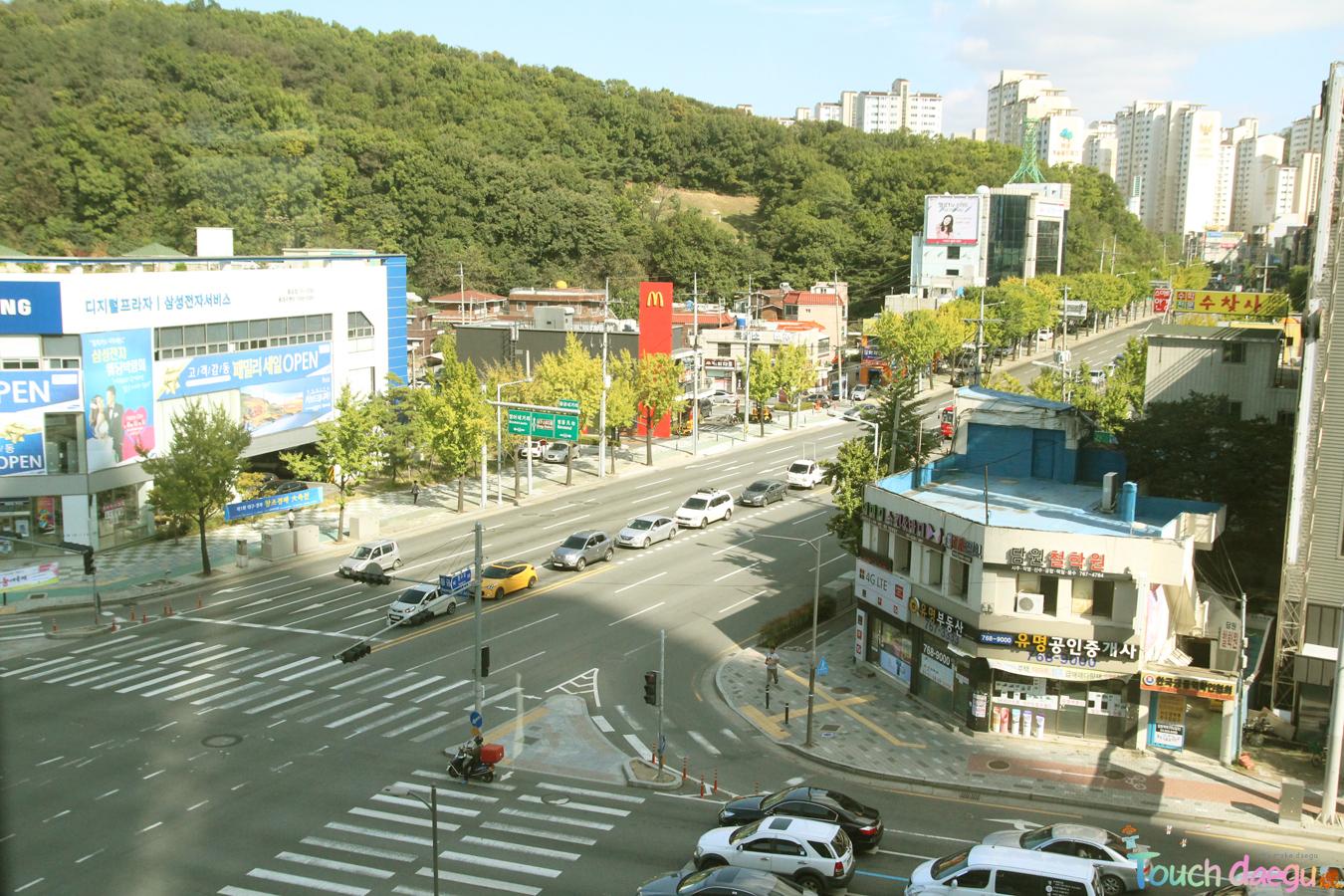 The view of Daegu city