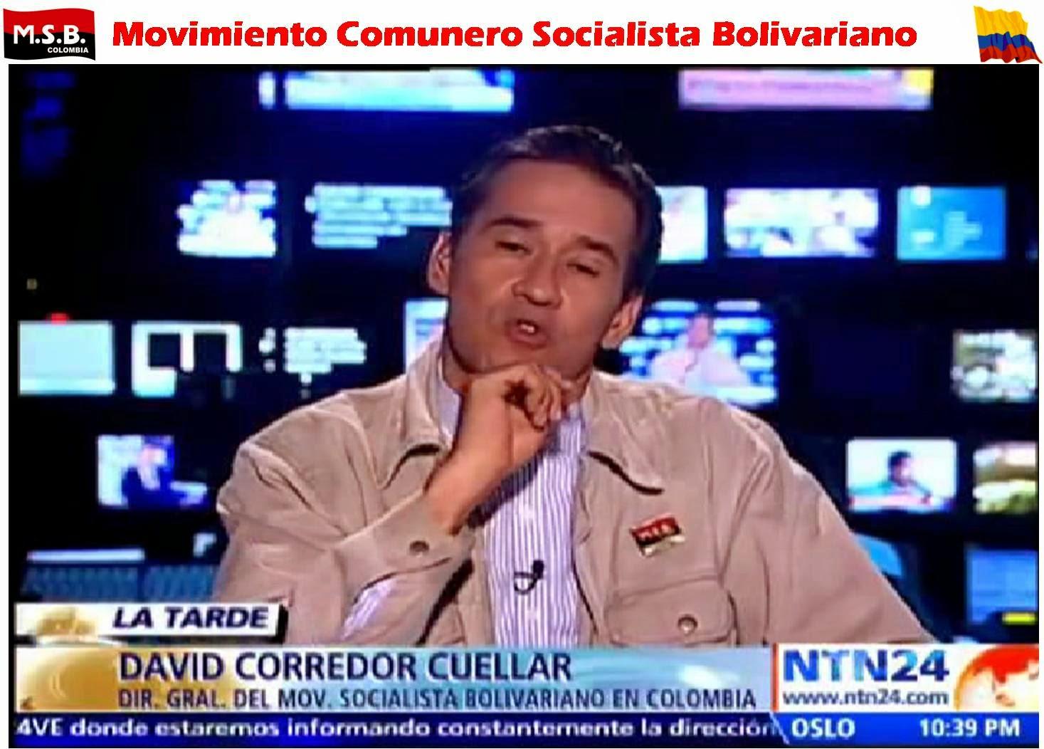 David Corredor Cuéllar en NTN24