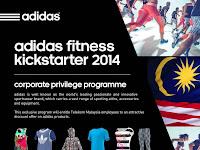 Adidas Fitness Kickstarter 2014 Corporate Privilege Programme