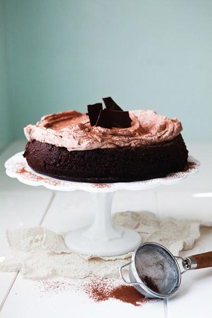 Torta allo Yogurt e Cioccolato - Ricetta Vasetti