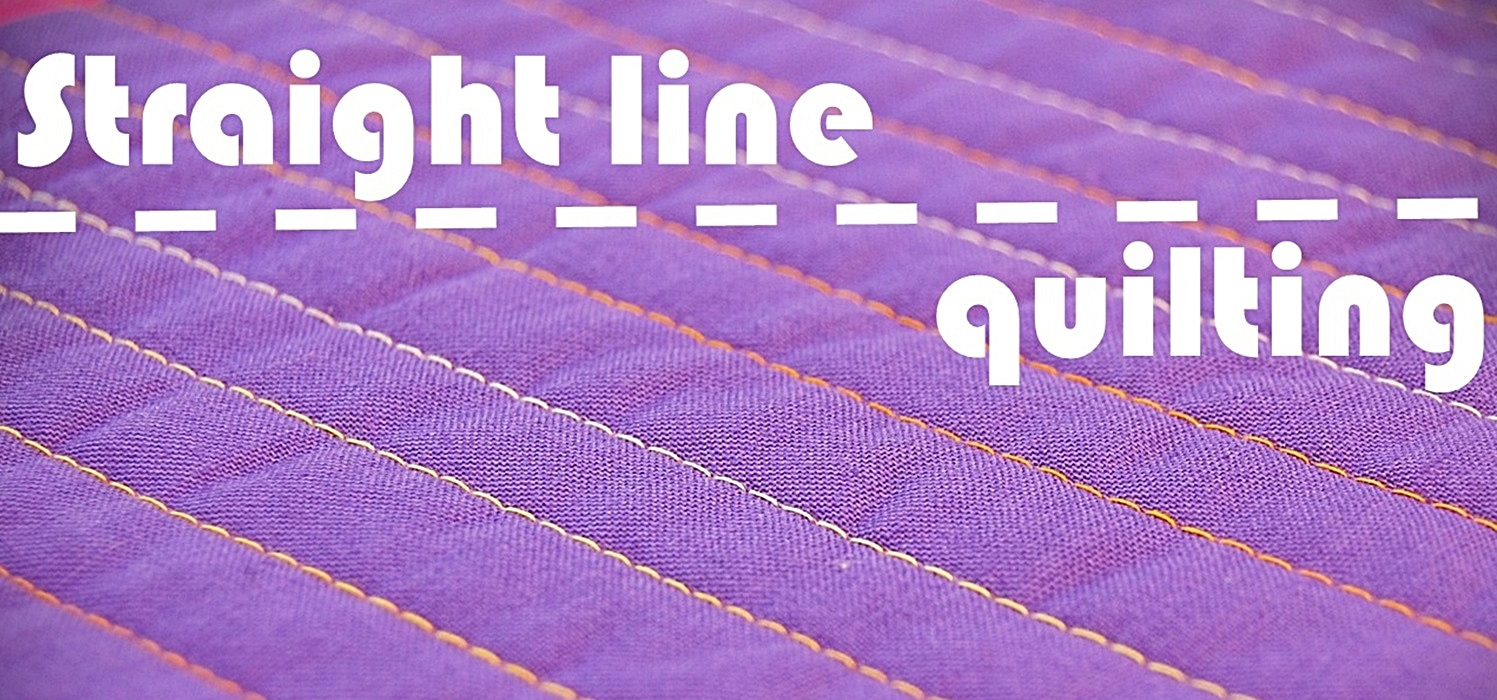 Straight Line Artrage : Miss sews it all top tips for stratight line quilting