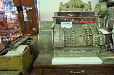 Sydney Antique Shop- Antique cash register