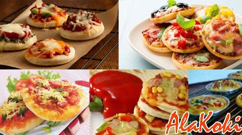 Resep Pizza Mini dan Cara Membuat