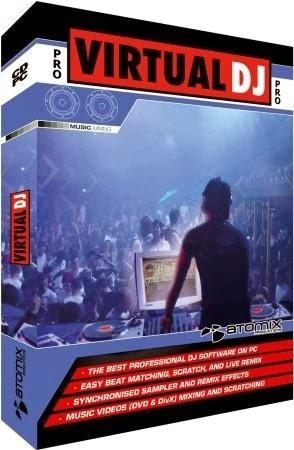 Download Atomix Virtual DJ Pro 7.4.1 Build 482