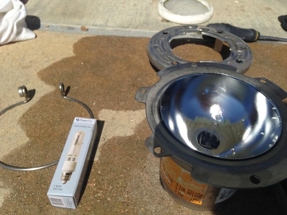Ihi Headlight Bulb : Wine country pools and supplies spa light halogen addendum