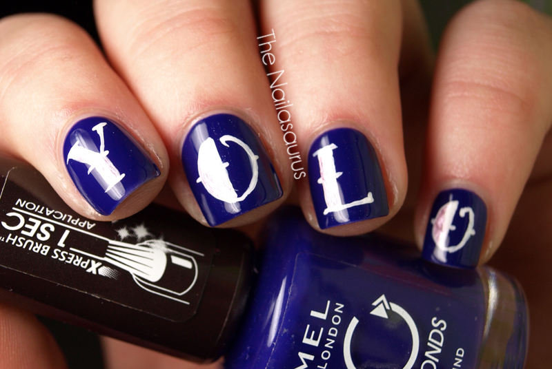 You Only Live Once The Motto Nail Art