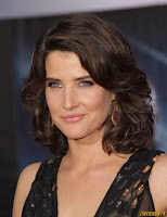 Cobie Smulders Marvel's The Avengers Premiere at El Capitan Theatre Los Angeles