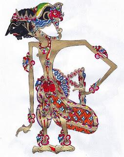 Gambar Wayang Drupada