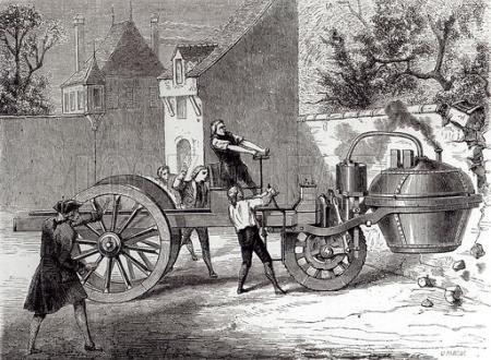 Masina lui Nicolas-Joseph Cugnot
