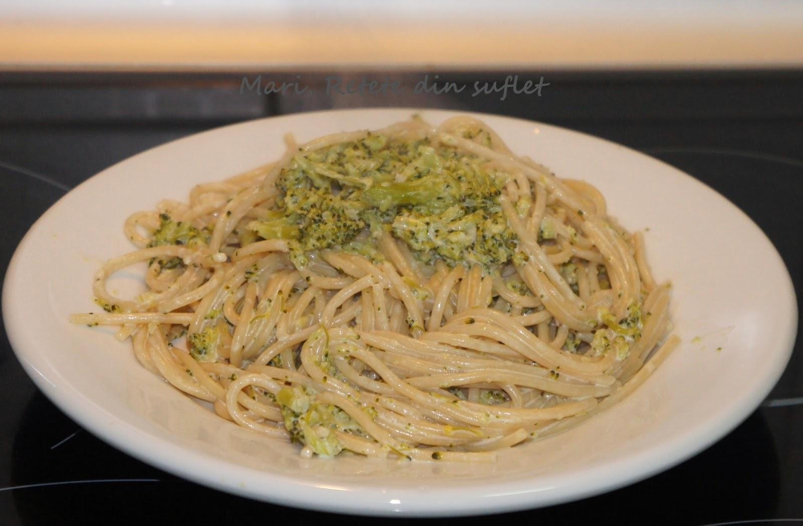 broccoli cu smanatana