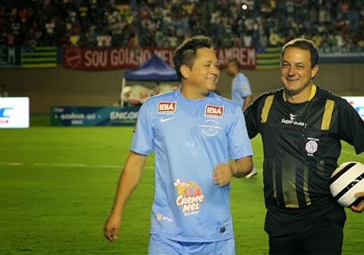 Futebol Leonardo e Neymar Em Go 26 12 2013