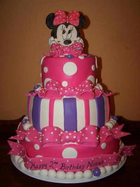 Modelos de tortas Minnie Mouse - Imagui