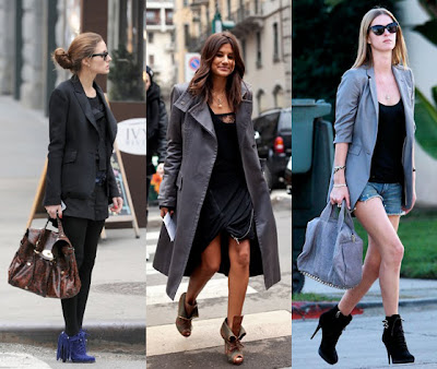 looks para ankle boots