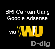 Cara Mengambil Uang Google Adsense melalui Western Union di BRI