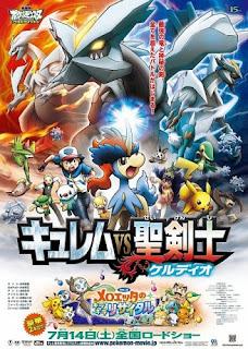 assistir - Pokémon: O Filme 15 –  Kyurem VS O Espadachim Sagrado, Keldeo - online