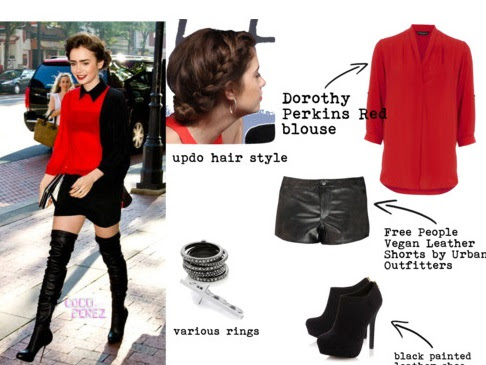 Get Her Look - Lily Collins