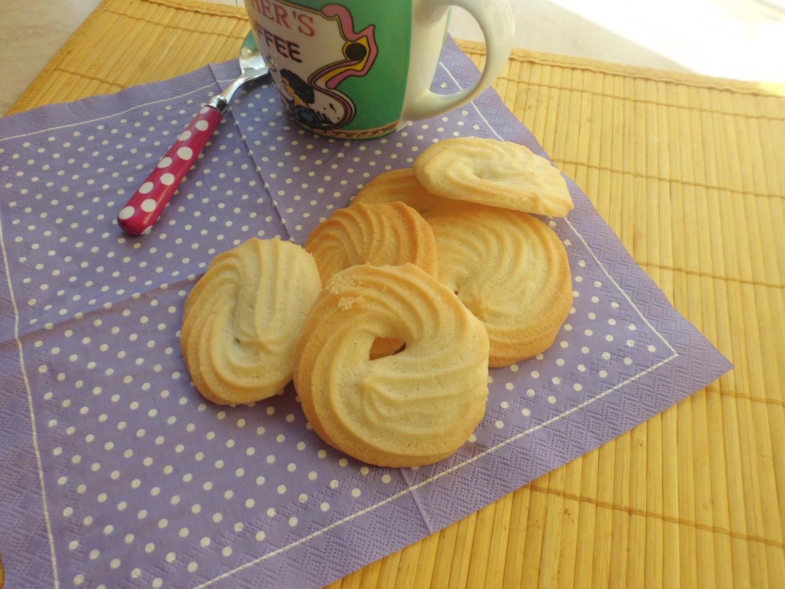 ciambelline alla vaniglia