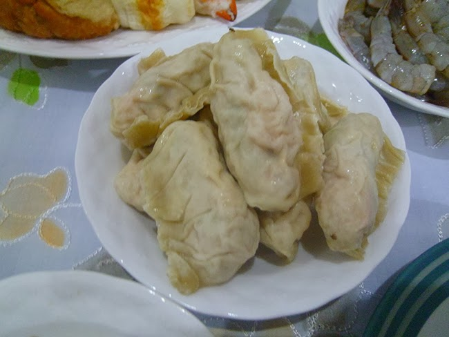 Suekiau, empanadillas chinas