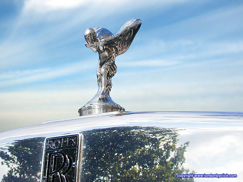 cars and only cars symbol of rolls royce