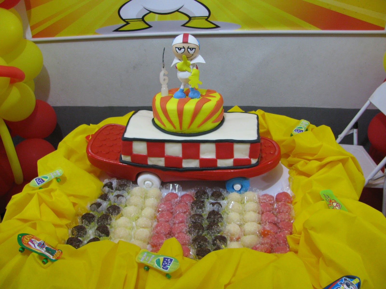 decoracao festa infantil kick buttowski:Daniele Rosa **: Festa do kick buttowski