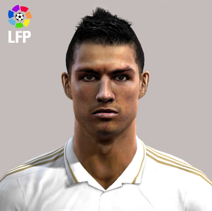 PES 2012 CRISTIANO RONALDO FACE BY HAMIT AKSLN