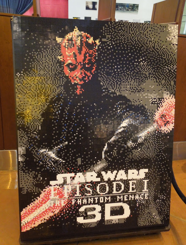Lego Star Wars Darth Maul poster