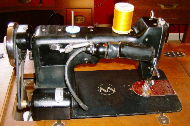 "How to Thread a Necchi BF ""Mira"" Sewing Machine 