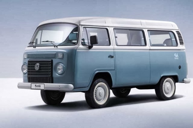 adanya Volkswagen Kombi di Brazil, Volkswagen meluncurkan kombi