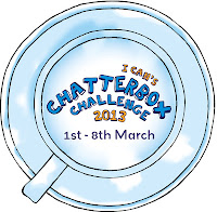 I CAN Chatterbox Challenge 2013 Mad Chatter's Tea Party