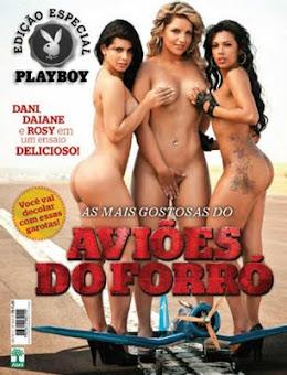 A revista Playboy lançou uma edição especial com as dançarinas do Aviões do Forró nuas.