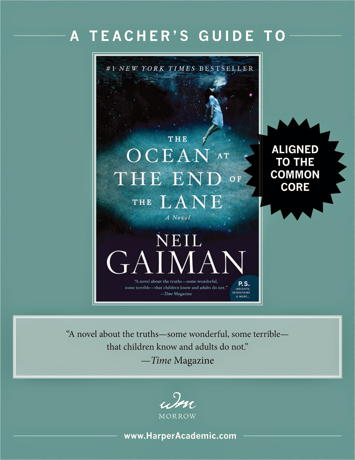 OCEAN AT THE END OF THE LANE by Neil Gaiman