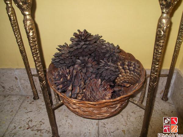 Mimbre - Como forrar cestas de mimbre ...