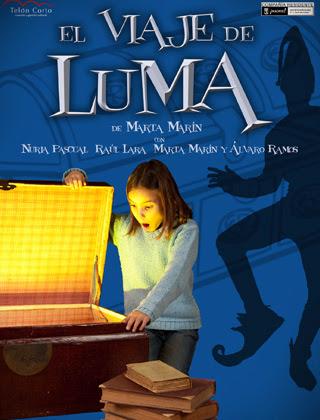 El viaje de Luma, teatro infantil, CC Valdebernardo, 12 oct 17:30