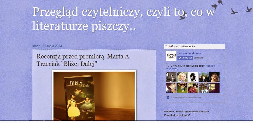 http://przeglad-czytelniczy.blogspot.com/2014/05/recenzja-przed-premiera-marta-trzeciak.html