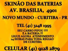 SKINÃO BATERIAS