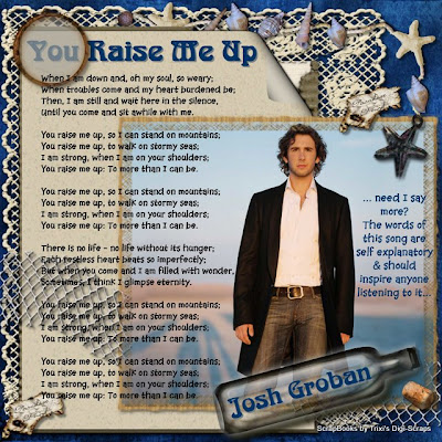 Josh Groban You Raise Me Up