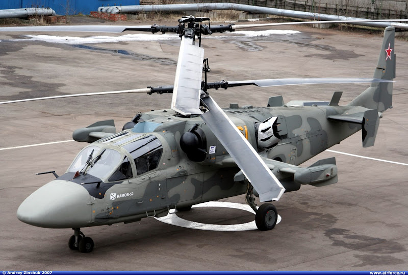 Ka-52 Alligator Combat Helicopter