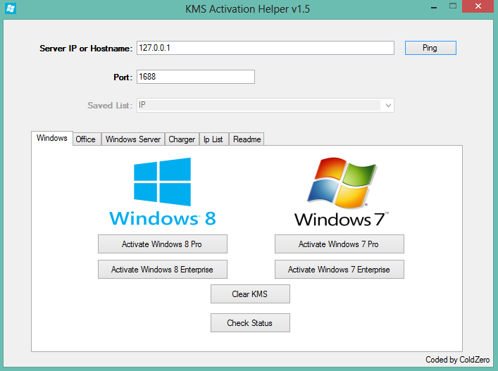 Free download software full version for Window activator
