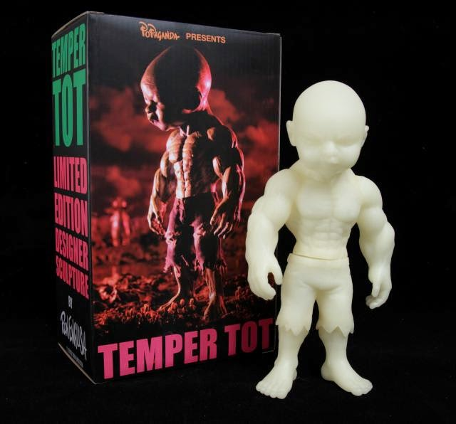 Temper Tot Glow Vinyl Figure by Ron English