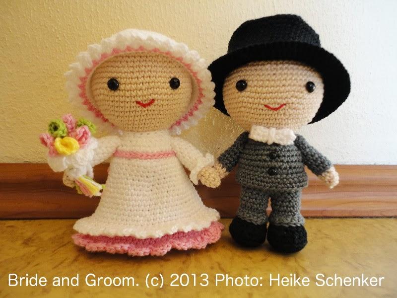 Bride and Groom Amigurumi - Sayjai Amigurumi Crochet ...
