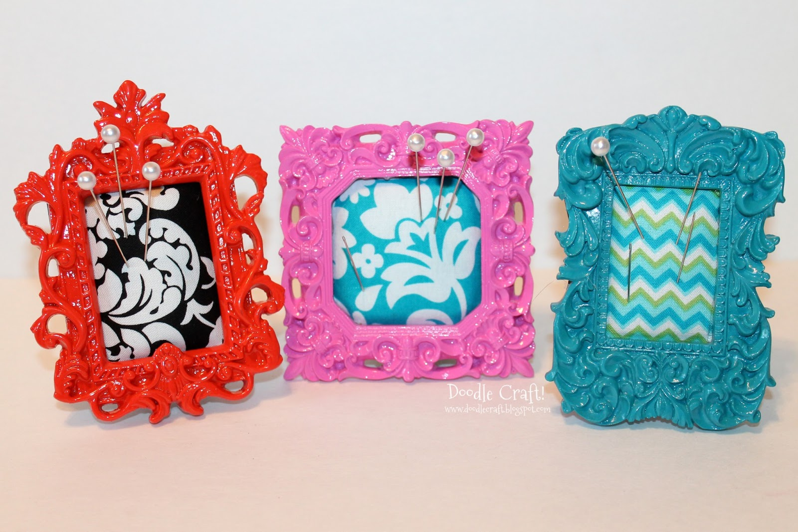 mini frame pincushions - Mini Frame