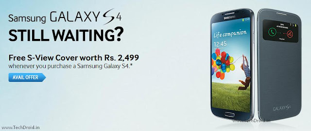 Samsung Galaxy S4 Offer