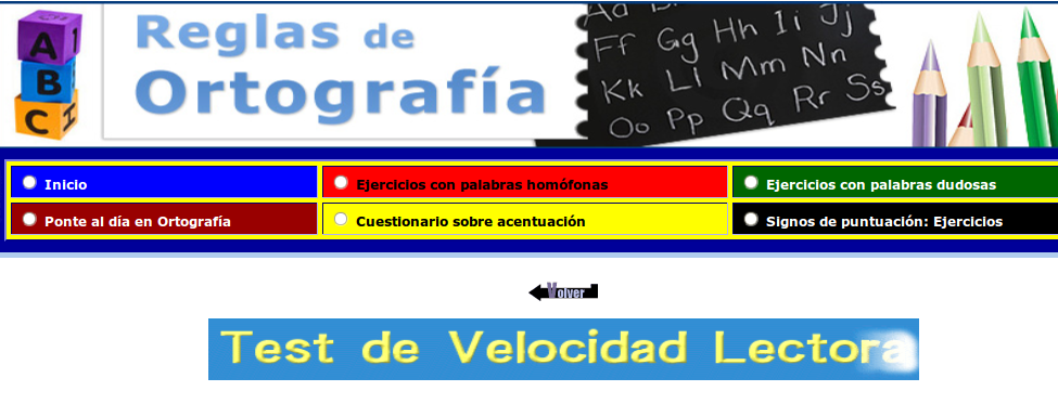 http://www.reglasdeortografia.com/testvelocidad02.html