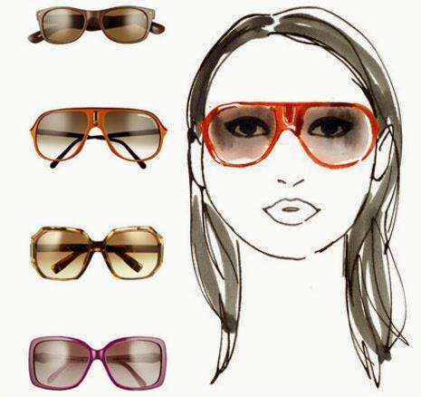 Kacamata untuk wajah berbentuk bulat