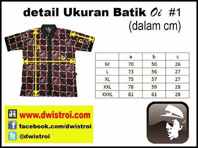 Jual Batik Oi batiknya Orang Indonesia