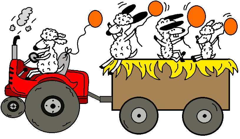 Church House Collection Blog Harvest Festival Hay Ride Fall Ride Coloring Page